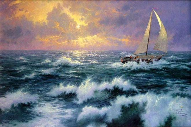 """Perseverance"" by Thomas Kinkade"